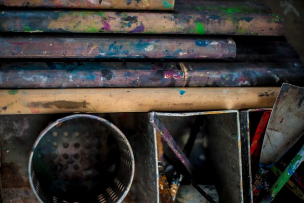 colored squeegees