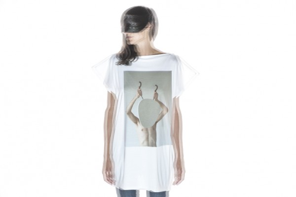 T-shirt woman with artistic print by Denis Darzacq