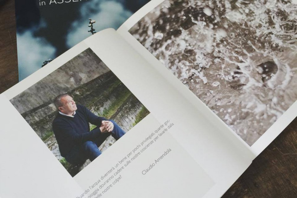 Claudio Amendola's portrait photo book by Silvia Pastore