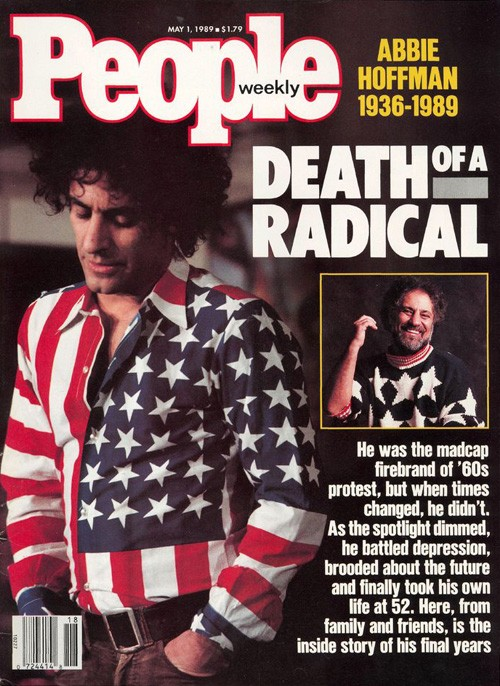 Abbie Hoffman cover People May 1th 1989