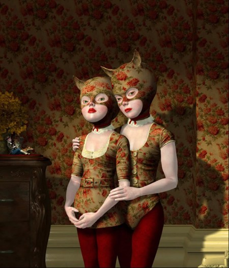 Wallflowers opera di Ray Caesar del 2007